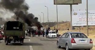 لها مخاطر شديده جدا , حوادث الطرق فى مصر