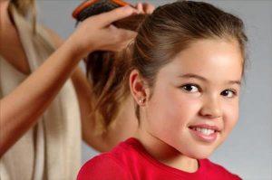 علاج تساقط الشعر عند الاطفال , شعر صحي لطفلك